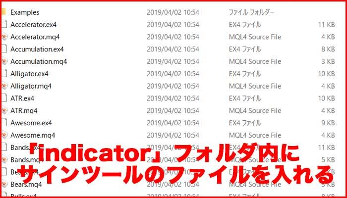 MT4の使い方⑤カスタムインジケーターやサインツールを設定する