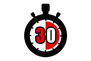 バイナリーオプションの危険性①30秒取引には注意する
