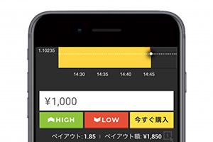取引をするアプリ